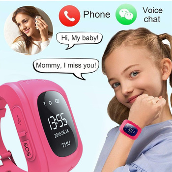 2020 New Kids Smart Watch for Children Call Watch GPS Anti Lost Children Tracker SOS for Android IOS