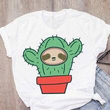 Women Tshirts This Cactus Print Summer Shirt Casual Funny Harajuku T Shirt Gift