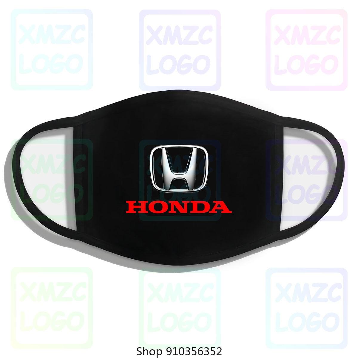 Honda Logo Cars Hoodies SweaOutdoors Black New Headband scarf Mask Bandana Women Men