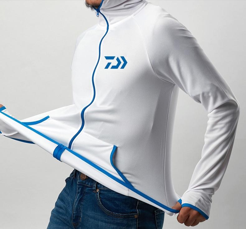 Top SaleDaiwa Shirt Fishing-Clothing Long-Sleeve Quick-Drying Waterproof Breathable Men