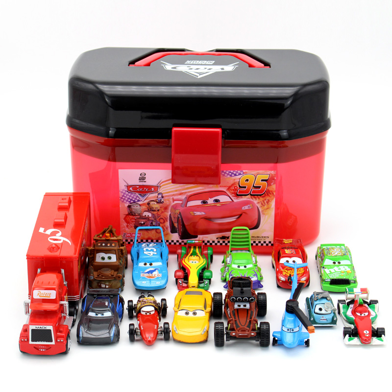 Pixar Car 3 Lightning McQueen Racing Family Family 39 Jackson Storm Ramirez 1:55 Die Cast Metal Alloy Car Christmas Gifts