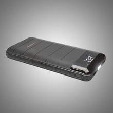 Black Power Bank 30000 20000mAh 15600mAh External Battery Ch