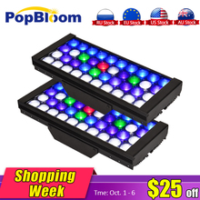 PopBloom LED Aquarium marine aquarium led lighting lamp for reef coral fish DSunY 4 Channels Programmable Dimmable MJ3BP2