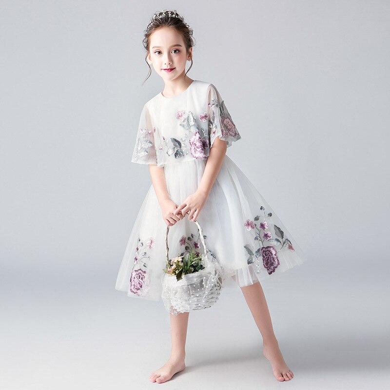 Immortal Gas CHILDREN'S Dress Princess Dress 2019 New Style Antique Style Girls Small Host Birthday Catwalks Piano Costume