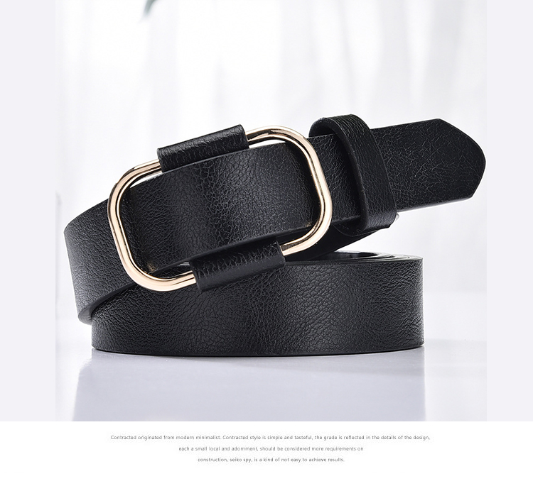 H86c667faeabf49a19a00905001a586b2I - NO.ONEPAUL New fashion designer design ladies luxury brand belt authentic leather ladies trend retro punk student youth belts