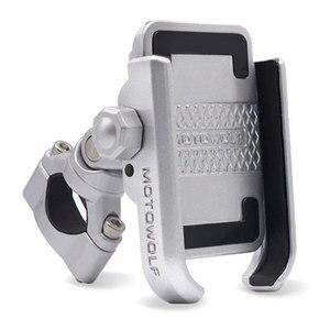 Универсальный держатель для телефона, из алюминиевого сплава, с регулировкой на 360 градусов