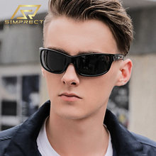 Simprect 2020 поляризационные очки солнцезащитные мужские мода