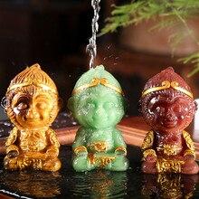 Tea-Set-Accessories Sculpture Tea-Pet Monkey-King-Statue Car-Ornament Figurine Home-Decoration