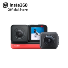 Insta360 ONE R new sports Action Camera 5 7K 360 4K wide angle waterproof video camera For iPhone and Android cheap Other SONY Series Ambarella H22 (4K 60FPS) About 12MP For Home Extreme Sports Outdoor Sport Activities Bicycle Beginner