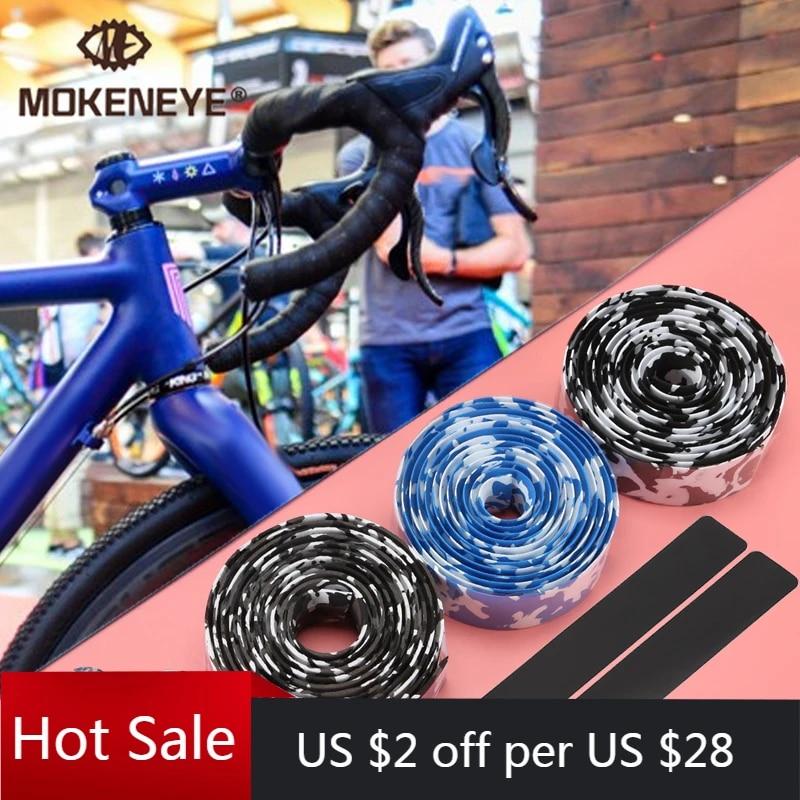 Road Bike Anti-slip Sweat Absorbent Handlebar Cork Grips Tape Cycling Bar Wrap