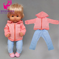 16 дюймов Кукла Одежда красные штаны для 38 см Nenuco Ropa Y Su Hermanita кукольный костюм аксессуары