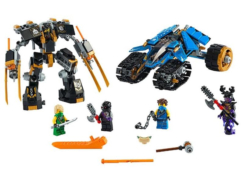 610 шт. Ниндзяго 2020 модель сборщика грома Набор строительных блоков совместимый с 71699 ниндзя Кирпичи игрушки для детей Подарки 11493