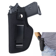 Universal Tactical Gun Holster Concealed Carry Holsters Belt Metal Clip IWB OWB Holster Airsoft Gun Bag for All Size Handguns