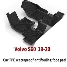 Напольный коврик для автомобиля volvo s60 универсальный ТПЭ