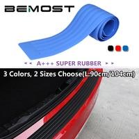 BEMOST 시트로엥 C2 C3 피카소 C4 Xsara C5 Berlingo 릴레이 자동차 스타일링 고무 후면 가드 범퍼 패드 커버 스크래치 스티커