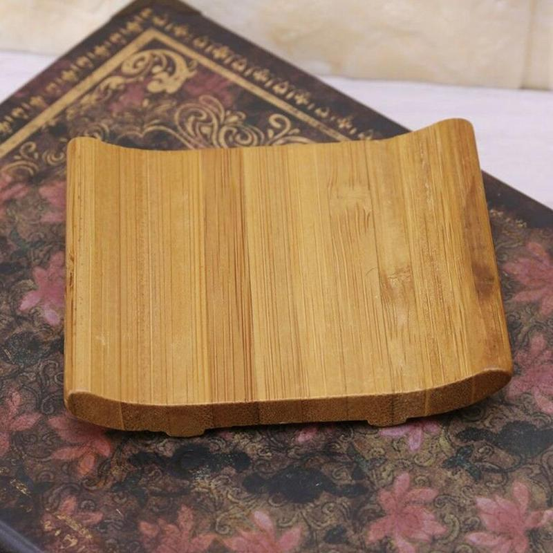 Exquisite And Elegant Bamboo Boat Cup Holder Ceremony Coaster Soap Dish