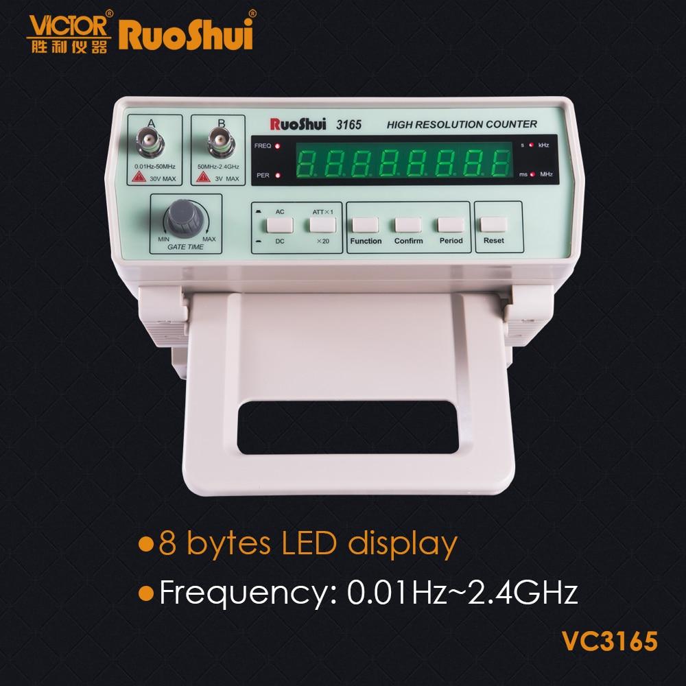 Счетчик частоты RuoShui VC3165, 2,4 ГГц