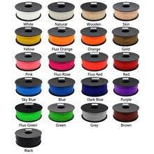 Quality product pla/abs 1.75mm 1kg 20 colors 3d printer filament pla 1.75mm pla filament 1kg 3d pen plastic pla 1kg abs 1kg 1.75 frends 1kg