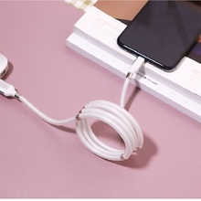 Fast 2A rope cable Magic cable for iOS automatically retractable storage charging for Samaung