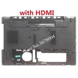 NOVO caso inferior tampa da Base Para Gateway NV50A NV51B NV51M NV55C D cobrir peças do portátil