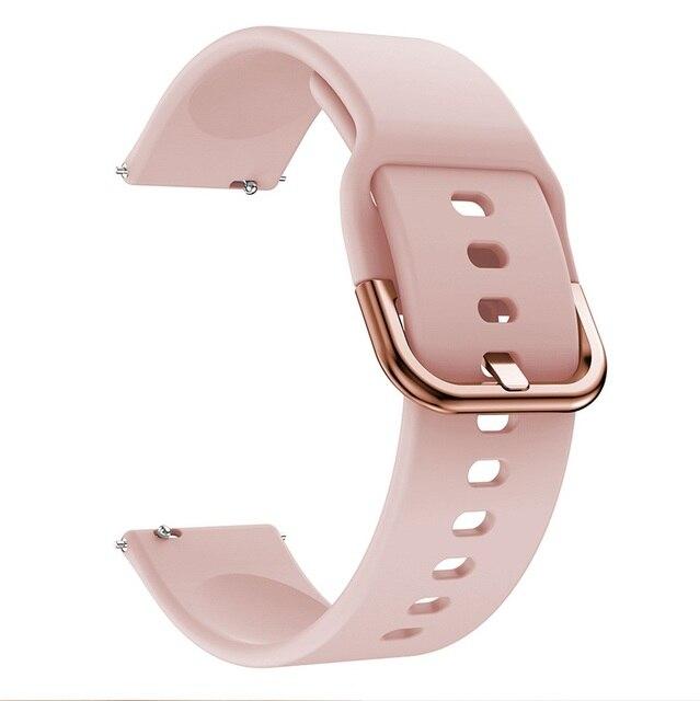 FIFATA Smart Watch Band For Amazfit GTR 2 Silicone Wrist Strap For Xiaomi Huami Amazfit GTR 42 47mm GTR2 GTS2 Bip U/S Bracelet 6