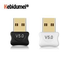 מיני USB מתאם USB Dongle אלחוטי USB Bluetooth משדר BT 5.0 מוסיקה מקלט Bluetooth מתאם עבור מחשב PC