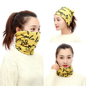 Image 3 - New Design Fashion Unisex Winter Autumn Warm Ring Bandana Scarf Knitting Men Headband Wome Face Mask Camouflage Multifunction