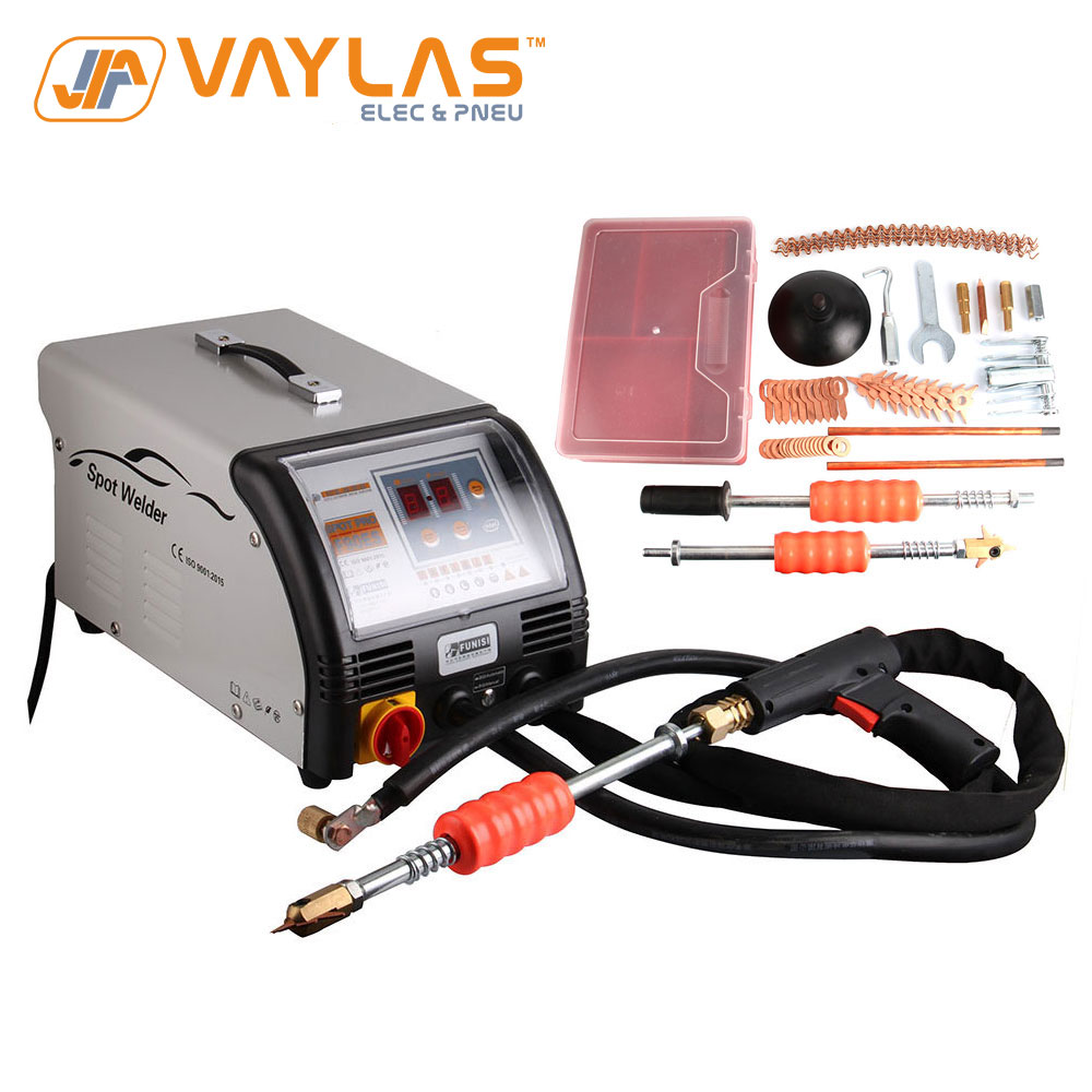 Max 3500A Output Welding Machine Spot Welder Panel Repair Machine Dent Repair Spotter Pulling Tool