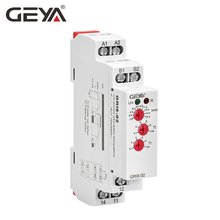 GEYA GRI8-02 Under Current Monitoring Relay 0.05A-16A Current Switch Relay AC/DC 24V-240V Current Protection Relay ad78s electrical relay used for protection relay over current relay overload relay