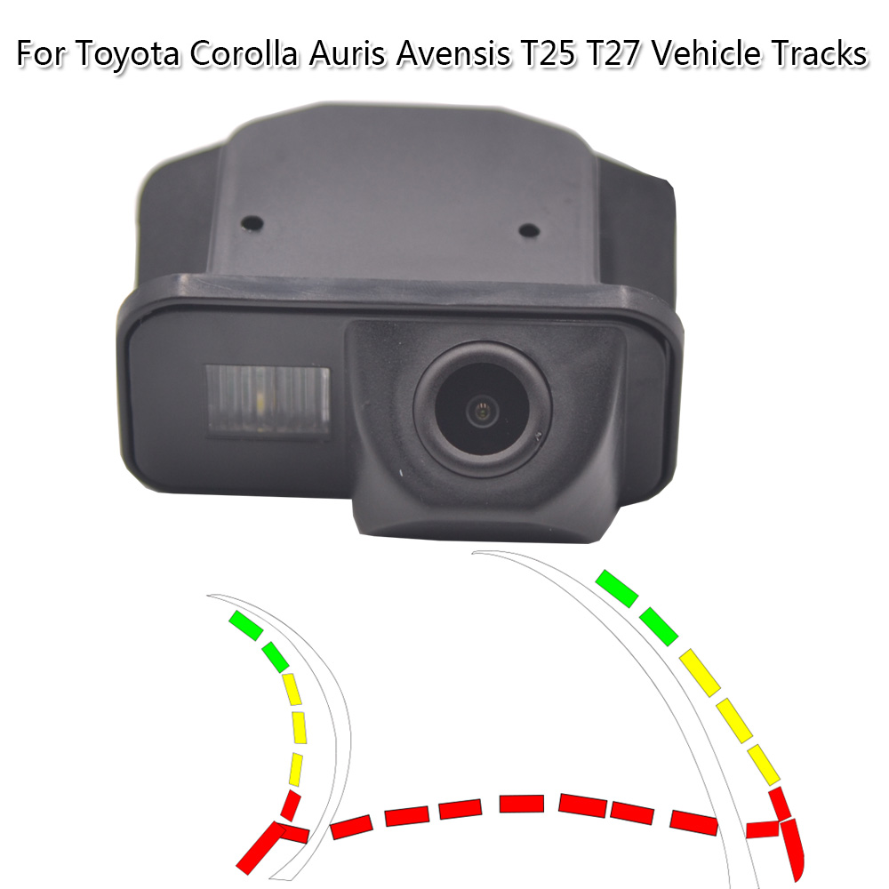 Dynamic Trajectory Waterproof Full Hd Camera For Toyota Corolla 2007 2008 2009 2010 Auris Avensis T25 T27