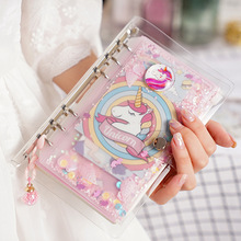 Kawaii Unicorn Spiral Notebook Set Cute DIY A6 Weekly Planne