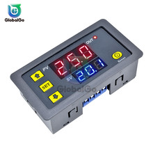 цена на AC 110V 220V DC 12V Digital Time Delay Relay LED Display Cycle Timer Control Switch Adjustable Timing Relay Time Delay Switch