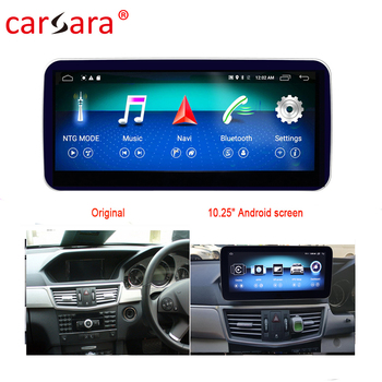RHD W212 S212 GPS Navigator Updating Tablet Android Monitor For Mercedes E Class W212 E200 E230 E260 E300 image