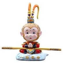 Автомобиль обезьяна автомобиль кукла встряхивающая голова игрушка