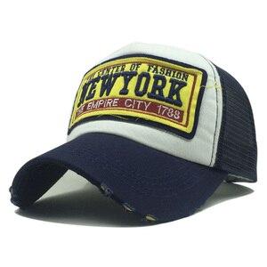 Новая бейсболка для женщин и мужчин, сетчатая летняя шляпа, уличная, Gorras Hombre, повседневная Кепка с вышивкой, кепки в стиле хип-хоп