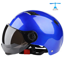 Motorcycle Open Face Capacete Para Motocicleta Cascos Moto Racing nuoman Motorcycle Vintage Helmets With Dark Lens for summer
