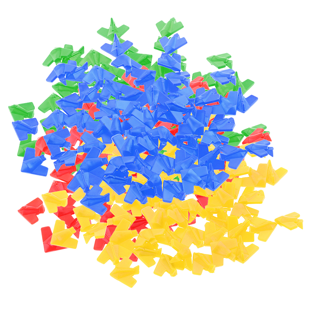 60 Pieces Plastic Board Game Counters Numeracy Teaching Kids Toy Gift