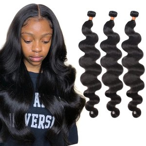 BrazilianBody Wave HairWeaveBundles 3040inchShort Long Natural HumanHairBundlesNon-remy extensions 4piecesFirstwig