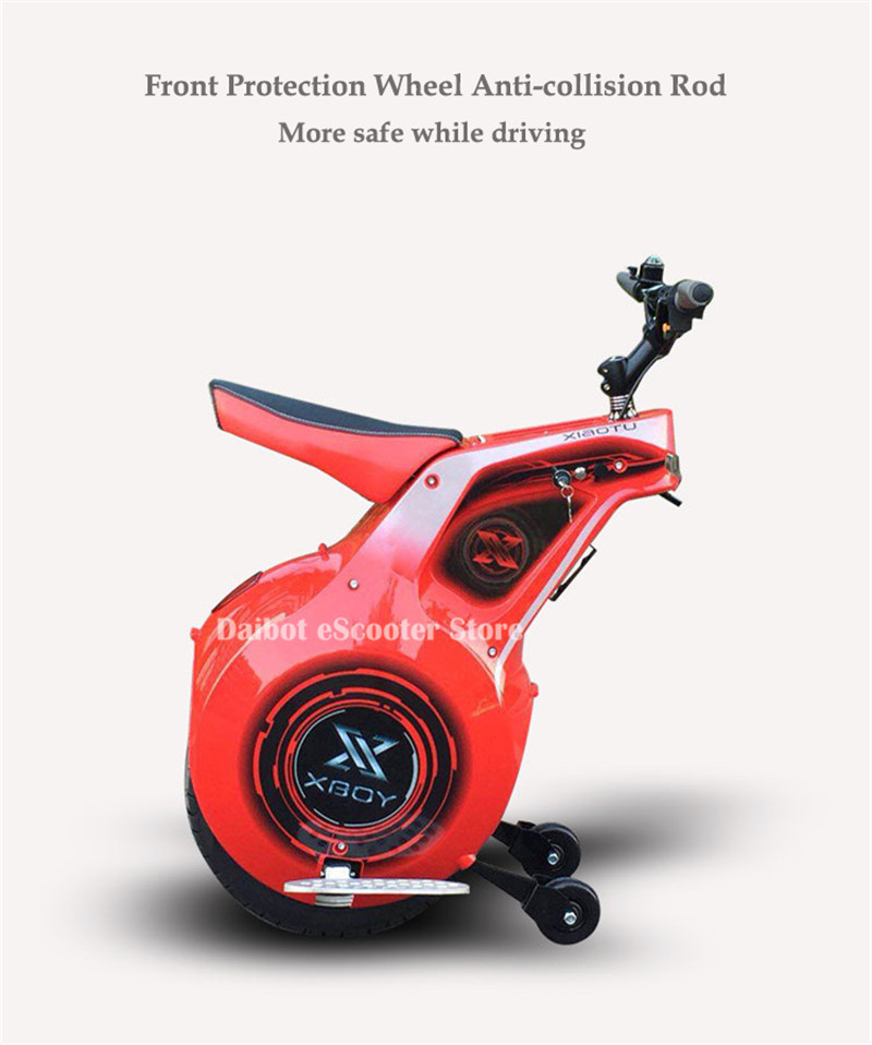 Powerful Electric Scooter One Wheel Self Balancing Scooters 19 Inch Motorcycle 800W 60V Electric Unicycle Scooter With APP (9)