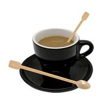 Взрывные одноразовые пластиковые кофейные ложки кофейные мешалки пластиковые ложки кофейные ложечки производители ложек