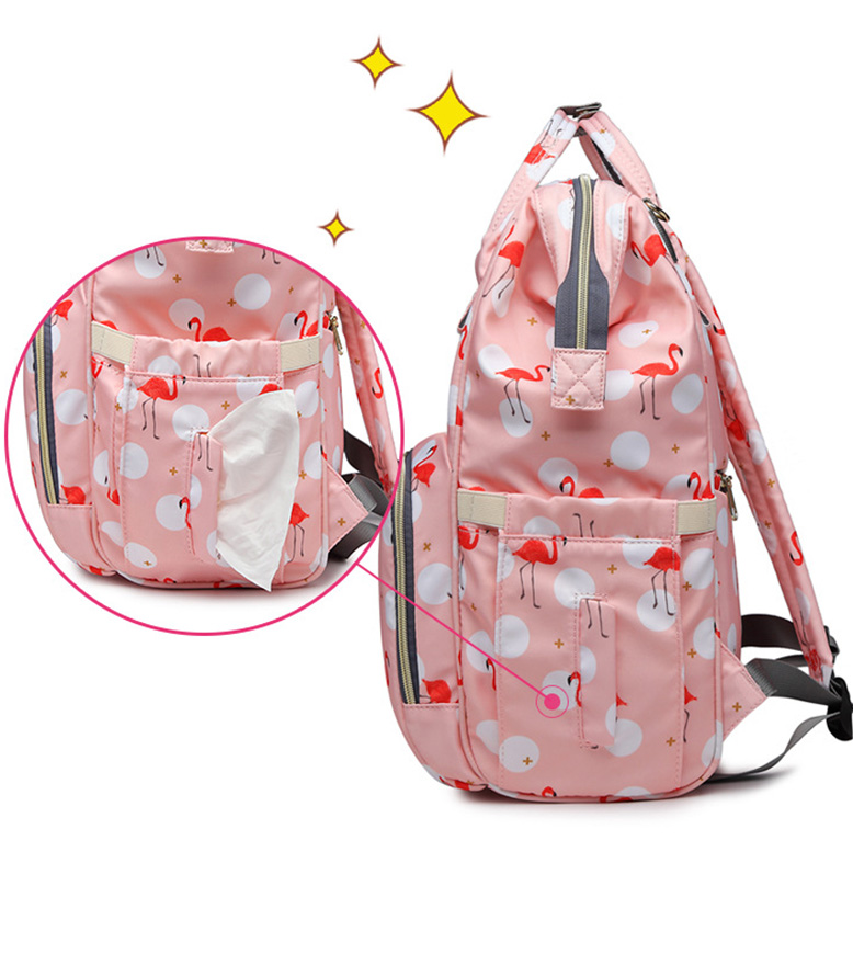 H86cab544d23e4ee9a5757065e040a139r Diaper Bag Backpack For Moms Waterproof Large Capacity Stroller Diaper Organizer Unicorn Maternity Bags Nappy Changing Baby Bag