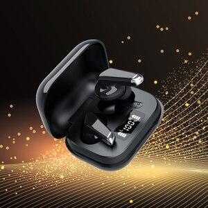 Беспроводные наушники Bluetooth 5,0 наушники спортивная водонепроницаемая гарнитура TWS HD стерео наушники Автоматическое Сопряжение с микрофоно...