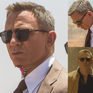 2020JamesBond Men's sunglasses