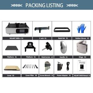 """Image 5 - Kelant S400S UV Resin 3D Printers 8.9"""" LCD 2K 3d Printer Touch screen DLP SLA printing size 192*120*200MM impresora diy kit"""
