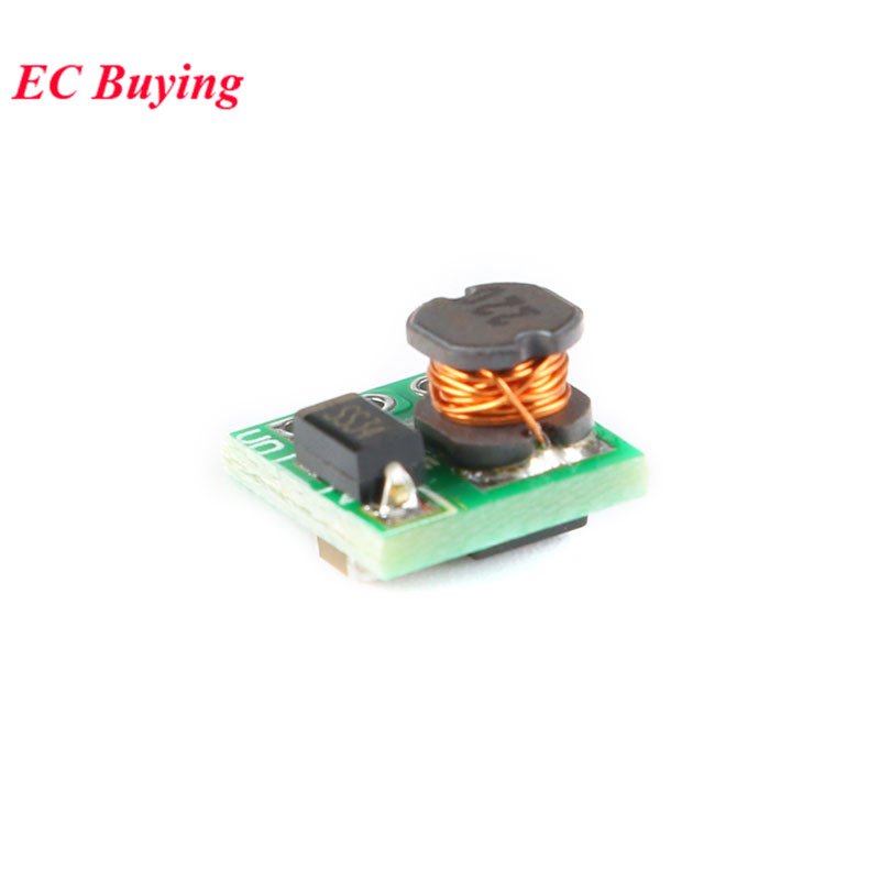 5 stücke DC-DC 0,9-3,3 V zu 3,3 V 500mA 0,9-5 V bis 5V Mini Schritt up Boost-Power Module DC zu DC Für Arduino Spannung Converter Modul