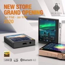 Hidizs – lecteur MP3 Portable AP80 HIFI, écran tactile, Bluetooth, musique, sport, FLAC LDAC, USB, DAC, DSD 64/128, Radio FM, DAP