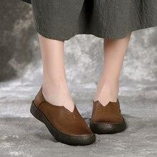 Г. Женские осенние туфли-лодочки из натуральной кожи на низком каблуке без шнуровки женские мокасины с острым носком, лоферы, эспадрильи 509-85