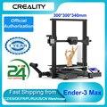 Creality Ender-3 Max 300*300*340 мм большой объем сборки Высокая точность 3D-принтеры комплект интегрированный Структура Поддержка Бесшумная печать
