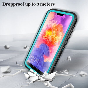 Image 3 - MOMOTS Shockproof Waterproof Case for Huawei P20 P20 Lite Mate 20 Pro 360 Silicone Transparent Case for Huawei P40 P30 Pro Funda