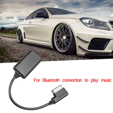 W212 Bluetooth Modulo Ricevitore Aux Cavo Adattatore per Mercedes adattatore bluetooth per Benz W212 S212 C207 Interfaccia MMI bluetooth(China)